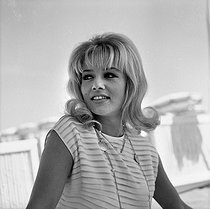 Sophie Daumier (1934-2004), French actress. © Roger-Viollet