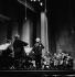 Yehudi Menuhin (1916-1999), American violinist and conductor. Paris, Théâtre des Champs-Elysées, January 1980. © Kathleen Blumenfeld / Roger-Viollet