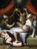 "Denys Calvaert (1540-1619). ""Danaé"", vers 1550-1619. Palais Mansi, Lucques (Italie). © Alinari/Roger-Viollet"
