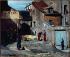Auguste Lepère (1849-1918). Episode of the Paris Commune (1871), rue des Rosiers, in the Montmartre district. Oil on canvas, 1875. Paris, musée Carnavalet. © Musée Carnavalet/Roger-Viollet