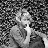 Mireille Darc (1938-2017), actrice française. 8 septembre 1961. © Alain Adler / Roger-Viollet