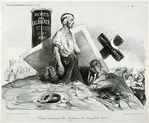 Honoré Daumier (1808-1879). It was really useful to kill us! Lithograph. Paris, musée Carnavalet.     © Musée Carnavalet/Roger-Viollet