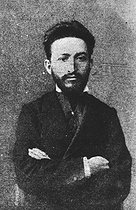Léo Fränkel (1844-1896), Hungarian-born French communist revolutionary, sentenced to death in absentia. © Roger-Viollet