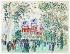 """Raoul Dufy (1877-1953). """"Le pesage"""". Aquarelle et gouache sur papier vélin d''Arches, 1930. Paris, musée d''Art moderne. © Musée d'Art Moderne/Roger-Viollet"""