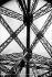 Paris. Metal structure of the Eiffel Tower.  © Neurdein/Roger-Viollet