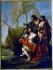 """Francesco Solimena (1657-1747). """"Christophe Colomb arrivant en Amérique"""", 1715. Musée de Rennes. © Roger-Viollet"""