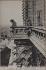 Cathédrale Notre-Dame de Paris (chimères et gargouilles). Paris (IVème arr). Photographie de Neurdein. Impression photomécanique (carte postale), vers 1900. Paris, bibliothèque de l'Hôtel de Ville. © Neurdein frères / BHdV / Roger-Viollet