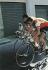 Le cycliste français Jacques Anquetil pendant une étape du Tour d'Italie de 1966.   © Alinari/Roger-Viollet