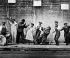 "Joe ""King"" Oliver's band. Centre: Lill Hardin, singer. San Francisco (California, United States), 1921. © Roger-Viollet"