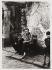 Yugoslav immigrants in the district of Belleville, impasse du Puits. Paris (XXth arrondissement), circa 1967. Photograph by Jean-Claude Vénézia (1941-2013). Bibliothèque historique de la Ville de Paris. © Léon Claude Vénézia/BHVP/Roger-Viollet