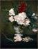 """Edouard Manet (1832-1883). """"Un vase de fleurs"""". Paris, musée d'Orsay.  © Roger-Viollet"""
