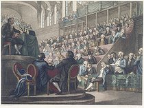 Reiner Vinkeles / Vrydag. Speech of Louis XVI at the National Convention, 1792. Paris, musée Carnavalet.   © Musée Carnavalet/Roger-Viollet