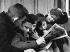 Comic strip fashion. France, 1956. Photograph by Janine Niepce (1921-2007). © Janine Niepce/Roger-Viollet