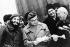 Fidel Castro (1926-2016), homme d'Etat et révolutionnaire cubain, accueilli par Nikita Khrouchtchev (1894-1971), homme d'Etat soviétique. Moscou (U.R.S.S.), 15 janvier 1964. © TopFoto/Roger-Viollet
