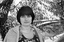 Agnès Varda (1928-2019), French director, 1976. © Roger-Viollet