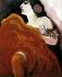 """Kees Van Dongen (1877-1968). """"La danseuse rouge"""", 1907.  © TopFoto/Roger-Viollet"""