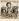 Tsuguharu Foujita, dit Léonard Foujita (1886-1968), peintre français. Marchand de marrons. Lithographie en couleurs, vers 1961. Paris, musée d'Art moderne. © Musée d'Art Moderne/Roger-Viollet