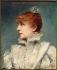 Louise Abbéma (1858-1927). Sarah Bernhardt (1844-1923), French stage actress and member of the Comédie-Française. Oil on wood, 1875. Paris, musée Carnavalet. © Musée Carnavalet / Roger-Viollet