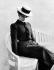 """Colette (1873-1954), écrivain français, à l'époque des """"Claudine"""". © Roger-Viollet"""