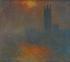"""Claude Monet (1840-1926). """"Le Parlement de Londres, trouée de soleil"""". Huile sur toile, 1904. Paris, musée d'Orsay. © Imagno / Roger-Viollet"""