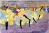 """Le """"quadrille excentrique montmartrois"""" dansant le French Cancan au bal-music-hall Tabarin, Paris.    © Roger-Viollet"""