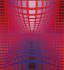 "Victor Vasarély (1908-1997). ""Opus III"". Peinture, 1974. Paris, centre Georges-Pompidou.  © Iberfoto / Roger-Viollet"