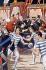 L'assassinat du roi Humbert Ier d'Italie (1844-1900), par Gaetano Bresci (1869-1901), anarchiste italien. Monza (Italie), 29 juillet 1900. © Alinari / Roger-Viollet