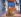 """""""La visite d'un ange à Marie"""". Enluminure extraite du manuscrit De Predis, 1476. Turin (Italie), bibliothèque royale. © Alinari/Roger-Viollet"""