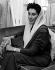 """Benazir Bhutto (1953-2007), femme politique pakistanaise, 1989. Photographie parue dans le """"Financial Times"""". © Ullstein Bild/Roger-Viollet"""
