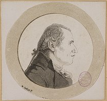 André Dutertre (1753-1842). Portrait of Gaspard Monge, Count of Péluse (1746-1818), French mathematician. Etching and aquatint. Paris, musée Carnavalet. © Musée Carnavalet / Roger-Viollet