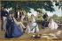 Jean-Frédéric Bazille (1841-1870). Family reunion. Paris, musée d'Orsay. © Roger-Viollet