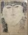 "Amédéo Modigliani (1884-1920). ""Portrait of Zadkine"". Paris, musée Zadkine. © Musée Zadkine/Roger-Viollet"