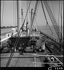 """Aboard the """"Minh"""". The Suez canal. Photograph by André Zucca (1897-1973). Bibliothèque historique de la Ville de Paris. © André Zucca/BHVP/Roger-Viollet"""