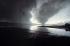 Guerre Iran-Irak. La raffinerie d'Abadan (Iran) en flammes. Novembre 1980.   © Françoise Demulder / Roger-Viollet