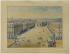 Gabriel Davioud (1823-1881). Place et fontaine de Sébastopol : vue perspective. Un dessin : plume, aquarelle sur papier. Paris, 22 novembre 1856. Paris, bibliothèque de l'Hôtel de Ville.  © BHdV / Roger-Viollet