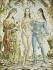 "Foujita (Léonard Tsuguharu Foujita, 1886-1968). ""Baptême de fleurs"". Huile sur toile, 1959. Paris, musée d'Art moderne. © Musée d'Art Moderne/Roger-Viollet"