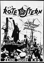 "Cover of the German Communist Party's newspaper ""Der Rote Stern"" (the Red Star). December 1918. © Roger-Viollet"