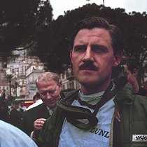 Graham Hill (1939-1975), pilote automobile britannique. Course automobile.      © Roger-Viollet