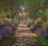 """Claude Monet (1840-1926). """"Jardin de Giverny"""". Huile sur toile, 1902. Vienne (Autriche), Österreichische Galerie Belvedere. © Imagno / Roger-Viollet"""