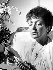 Edith Piaf (1915-1963), chanteuse française, à l'hôpital Ambroise-Paré. Boulogne (Hauts-de-Seine), 12 avril 1963. © TopFoto / Roger-Viollet