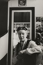 Simone de Beauvoir (1908-1986), French writer, at her place. Paris, rue Schoelcher, 1970.  © Jean Mounicq/Roger-Viollet