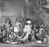 "Représentation de ""Cyrano de Bergerac"" pièce d'Edmond Rostand, vers 1900. © Roger-Viollet"