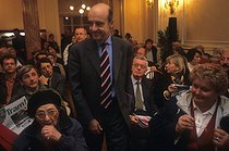 Alain Juppé (born in 1945), French politician, during the campaign for the municipal elections in Bordeaux (Gironde), November 2000. © Jean-Paul Guilloteau/Roger-Viollet