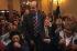 Alain Juppé (né en 1945), lors de la campagne des élections municipales à Bordeaux (Gironde), novembre 2000. © Jean-Paul Guilloteau/Roger-Viollet