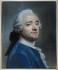 """Maurice Quentin de La Tour (1704-1788). """"Autoportrait au jabot de dentelle"""". Pastel, vers 1750. Paris, musée Cognacq-Jay.  © Musée Cognacq-Jay/Roger-Viollet"""