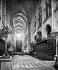 Paris. Cathédrale Notre-Dame. La nef, vue prise du choeur. © Neurdein / Roger-Viollet