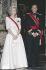 Juan Carlos Ier (né en 1938), roi d'Espagne, et son épouse la reine Sophie (née en 1938), 5 avril 1989. © Ullstein Bild/Roger-Viollet