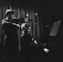 Yehudi Menuhin (1916-1999), Russian-born American violonist and conductor and his sister Hephzibah Menuhin (1920-1981), American pianist. Paris, February 1936. © Boris Lipnitzki / Roger-Viollet