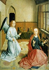 Studio of Dirk Bouts (c.1415-1475). Dutch school. Annunciation. © Roger-Viollet