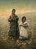 Jeunes paysannes. Jérusalem (Palestine, Israël), vers 1880-1890. © Roger-Viollet